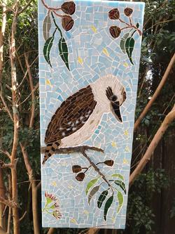 mosaic kookaburra