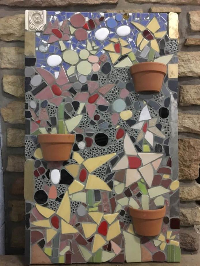 mosaic wall mural
