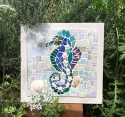 mosaic seahorse