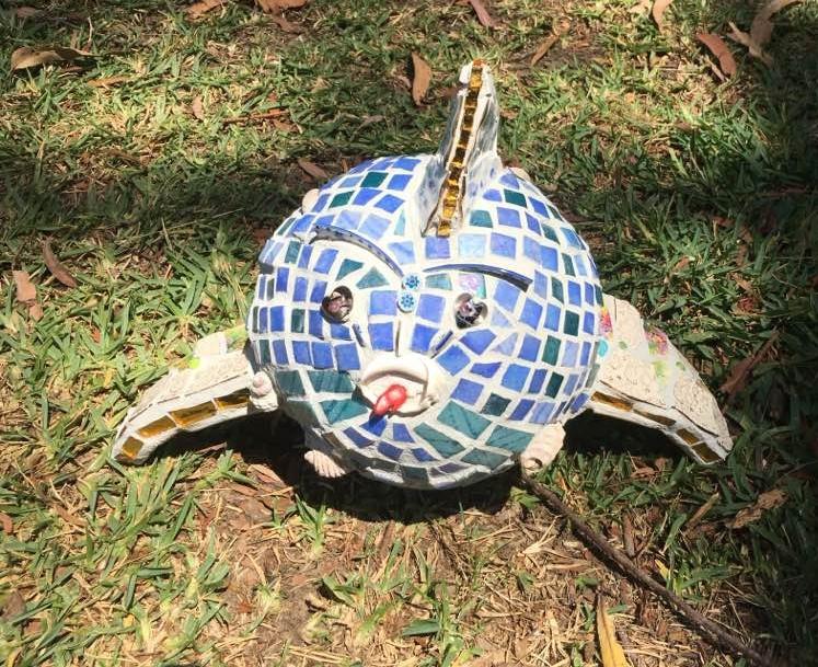 mosaic 3d fish