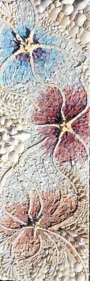 mosaic shells