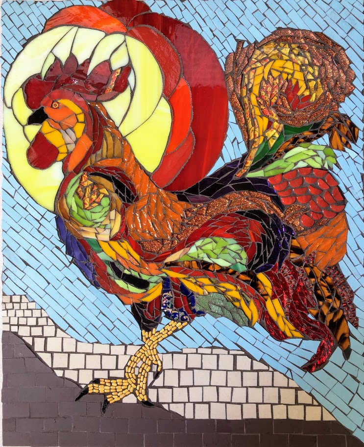 mosaic chicken