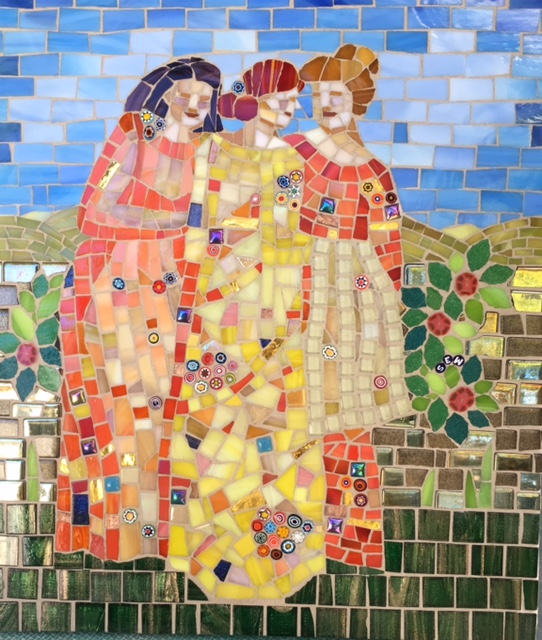 mosaic ladies