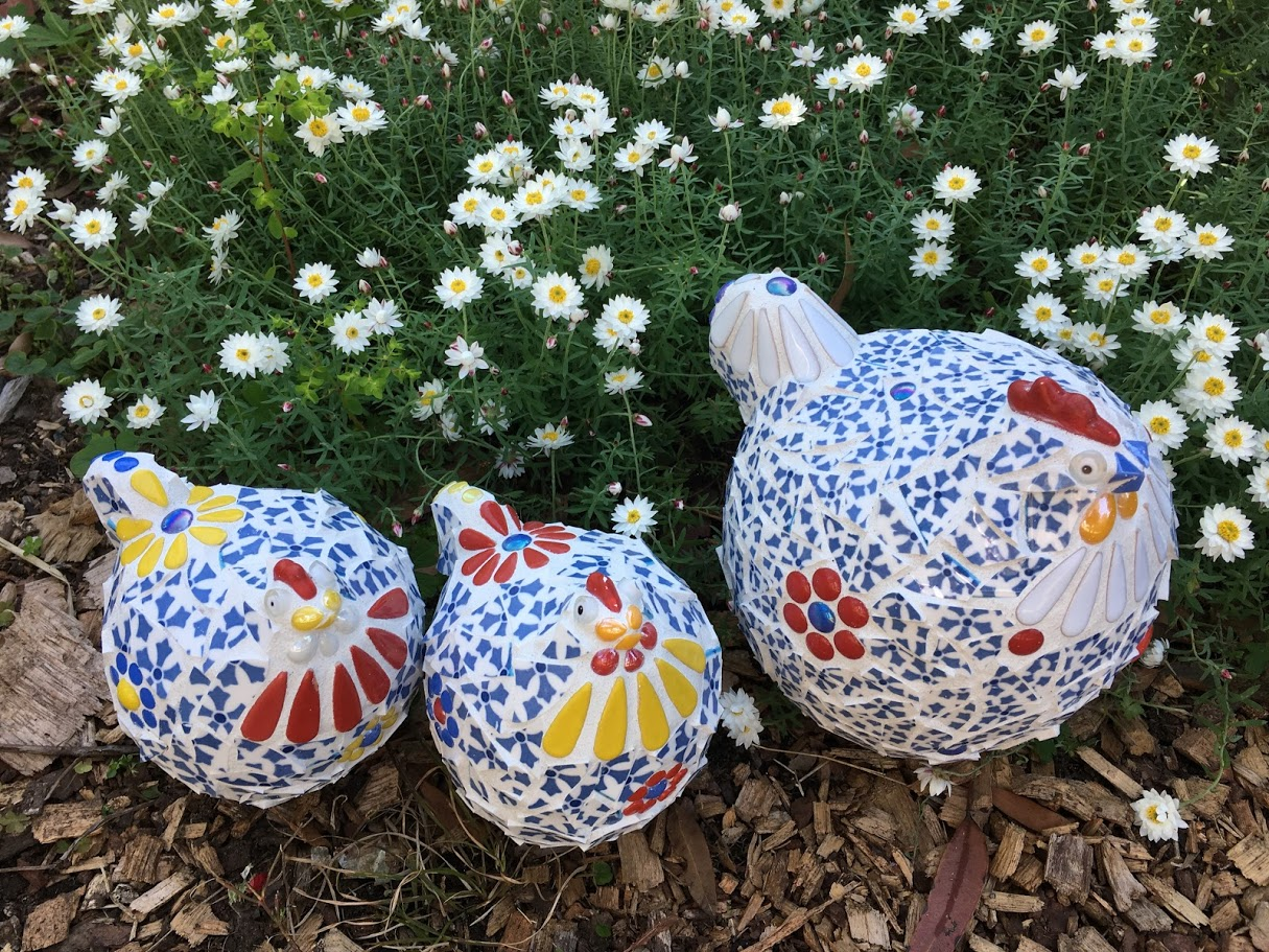 mosaic chooks