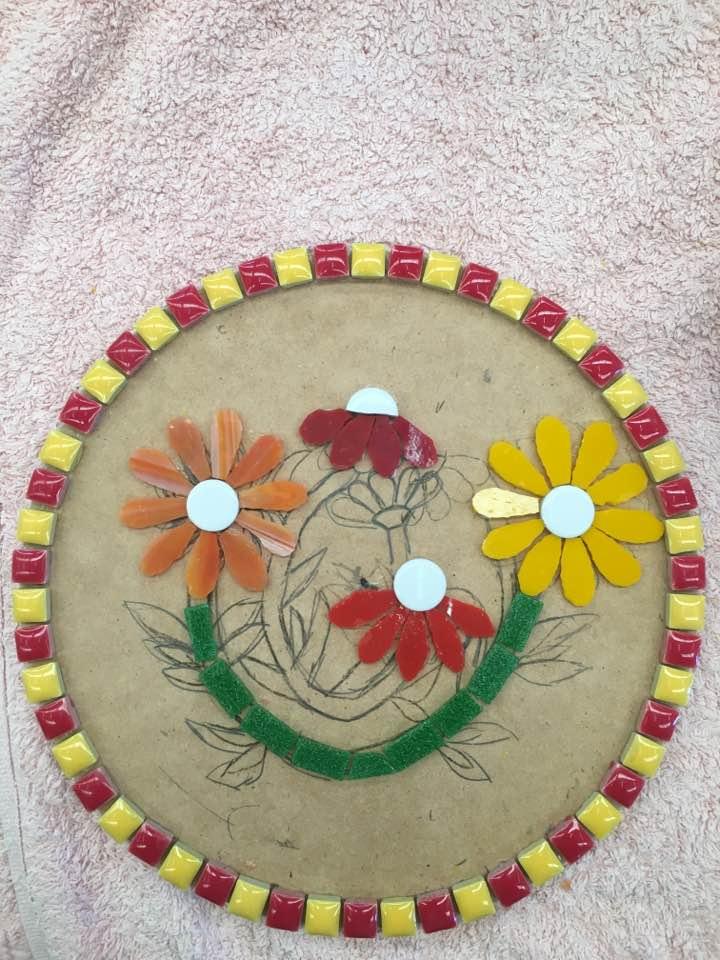 Carla.k Inspirations class mosaics