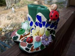 mosaic boots