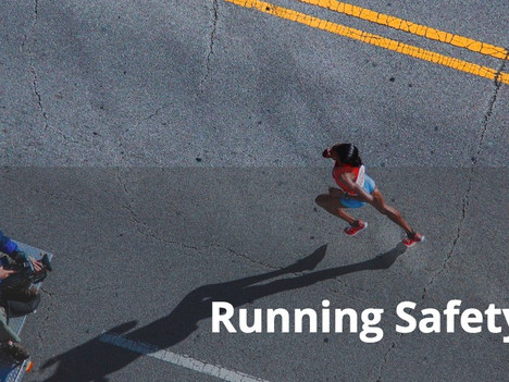 RRCA General Running Safety Tips