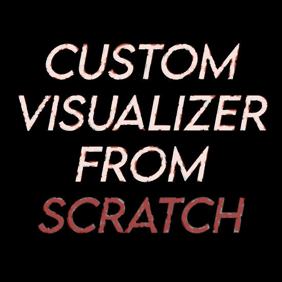 Canvas or visualizer made from scratch!