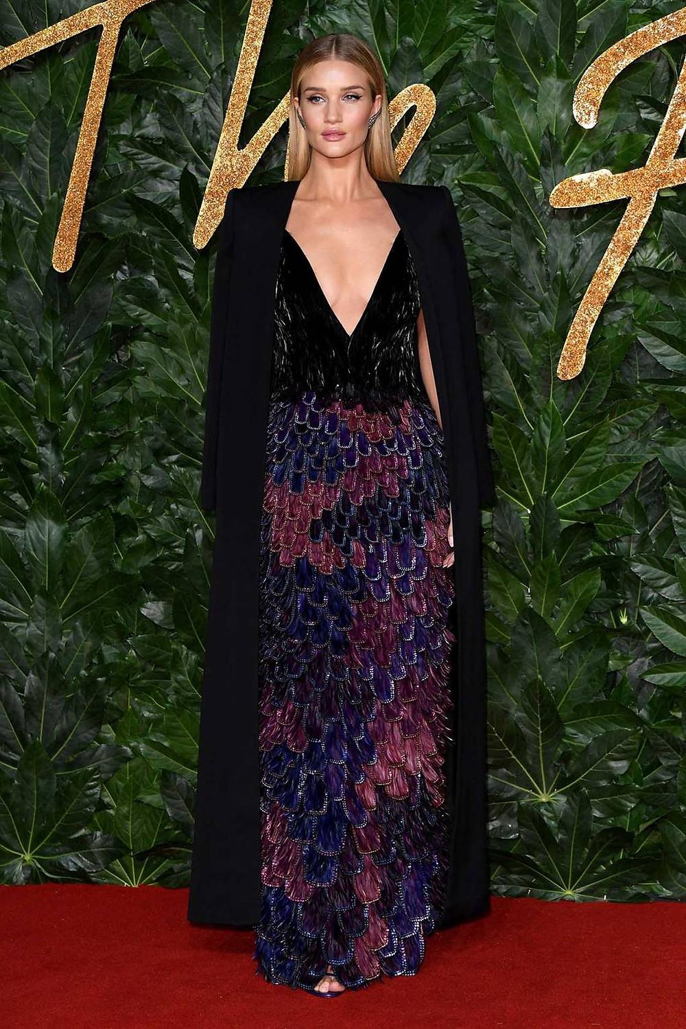 Rosie Huntington-Whiteley in Givenchy.