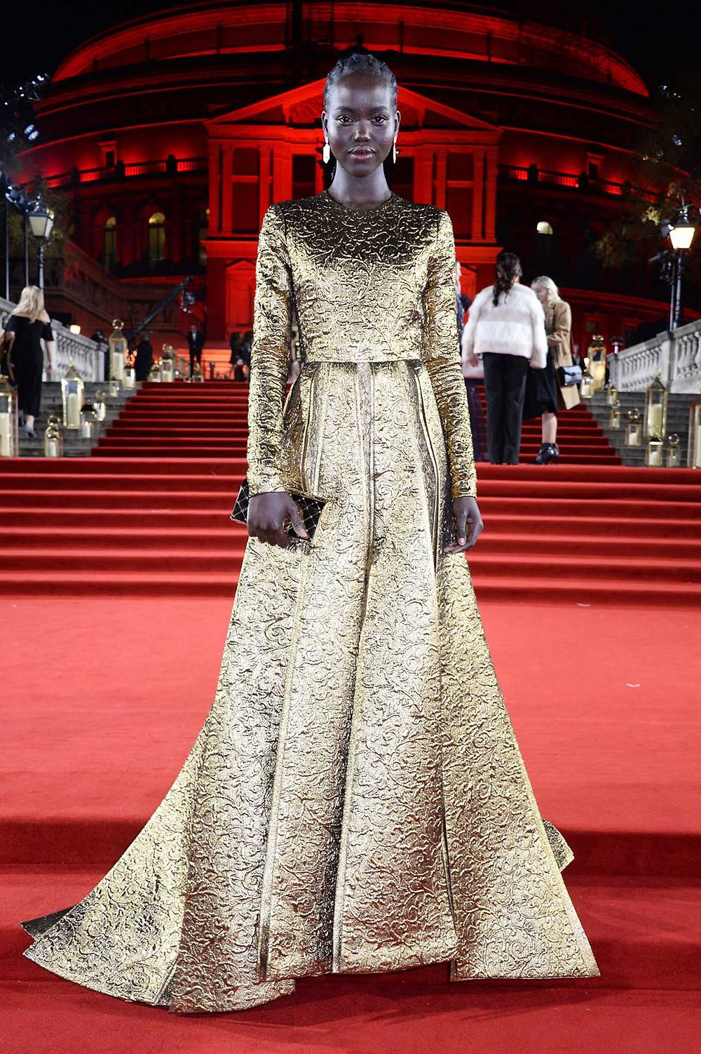 Adut Akech in Valentino Haute Couture.
