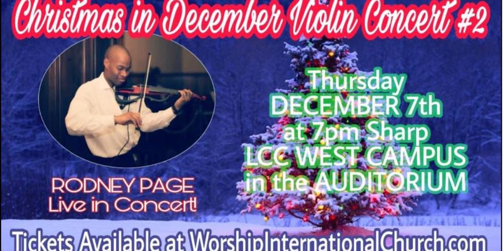Christmas in December Violin Concert #2