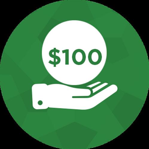 Donate- $100