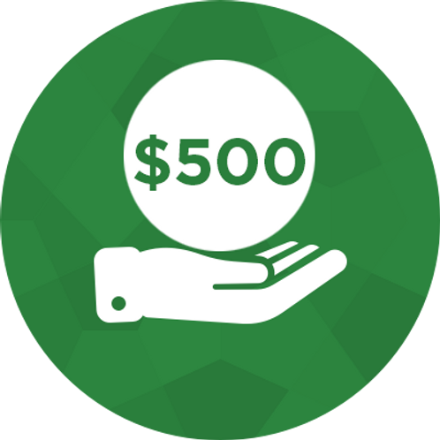 Donate- $500