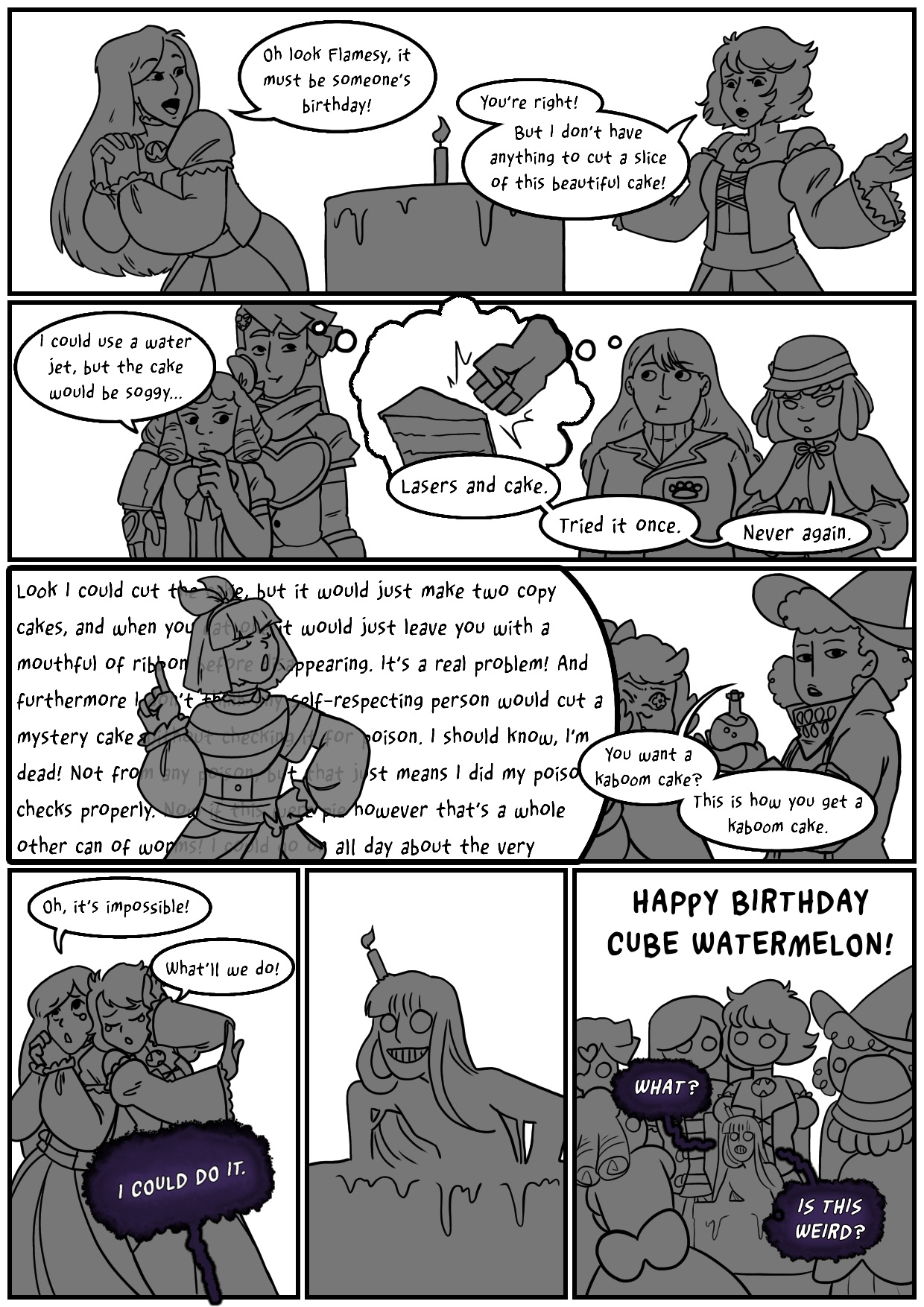 Birthday Comic