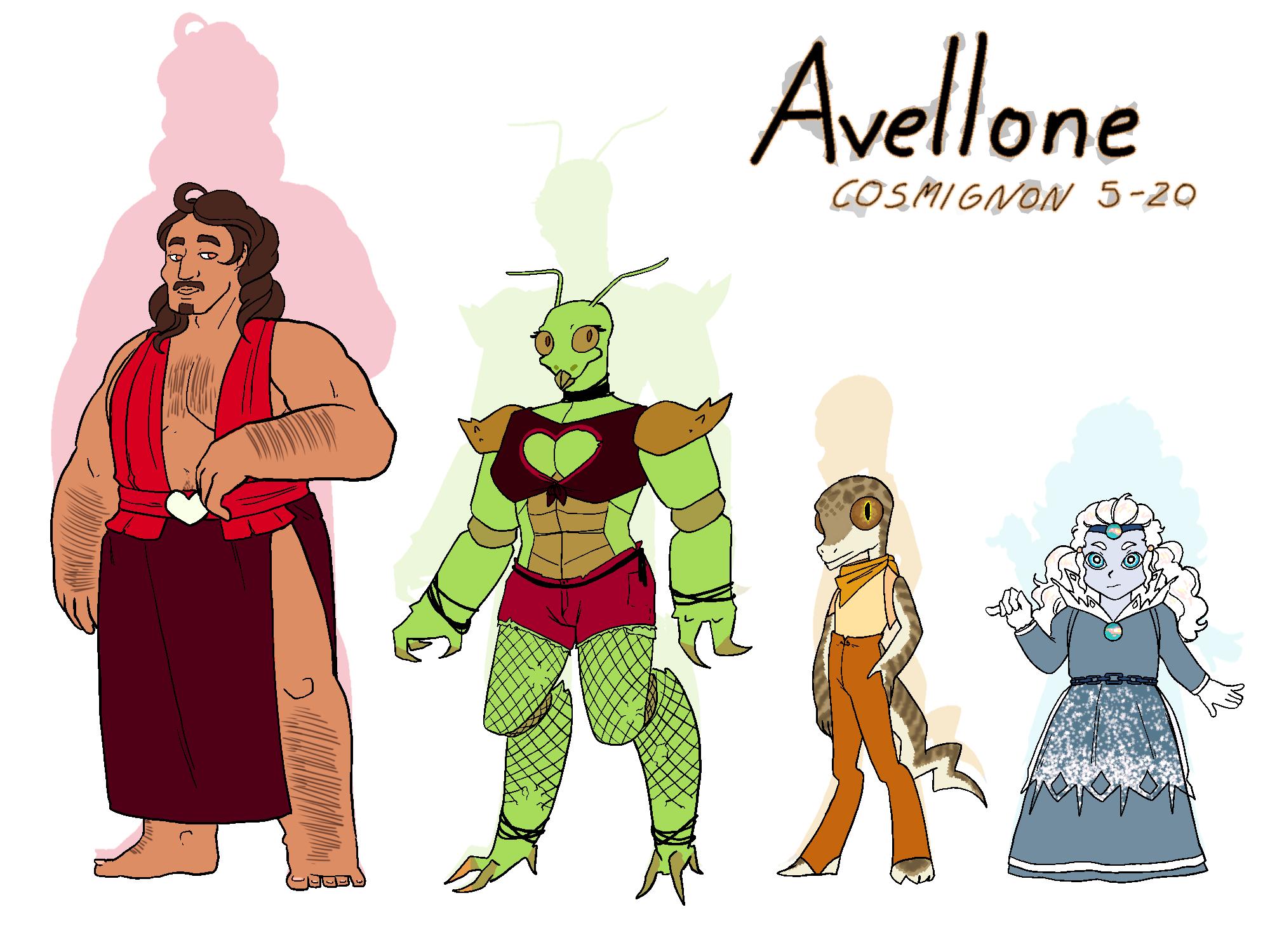 Avellone Cast