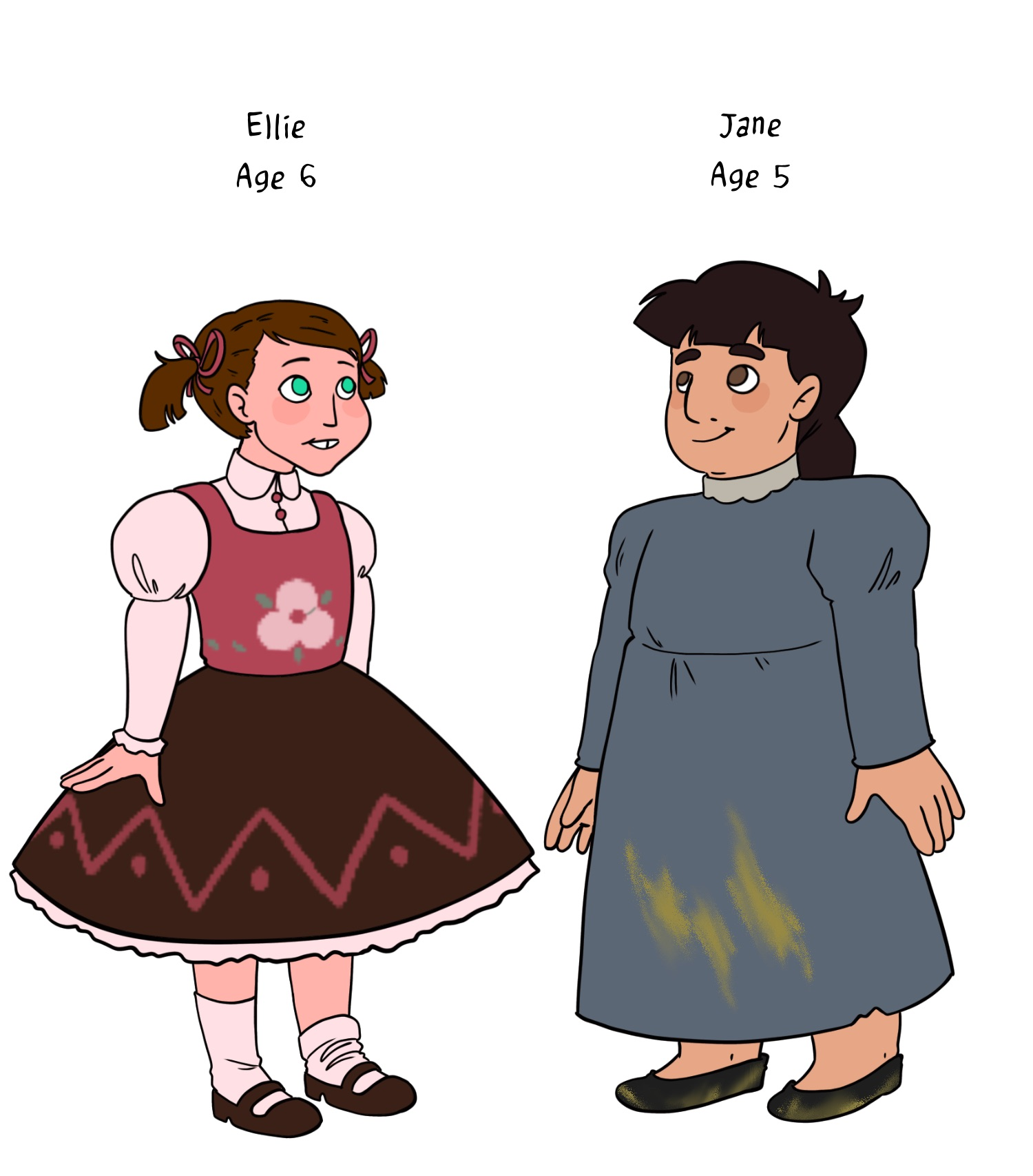 Ellie & Jane, Younger