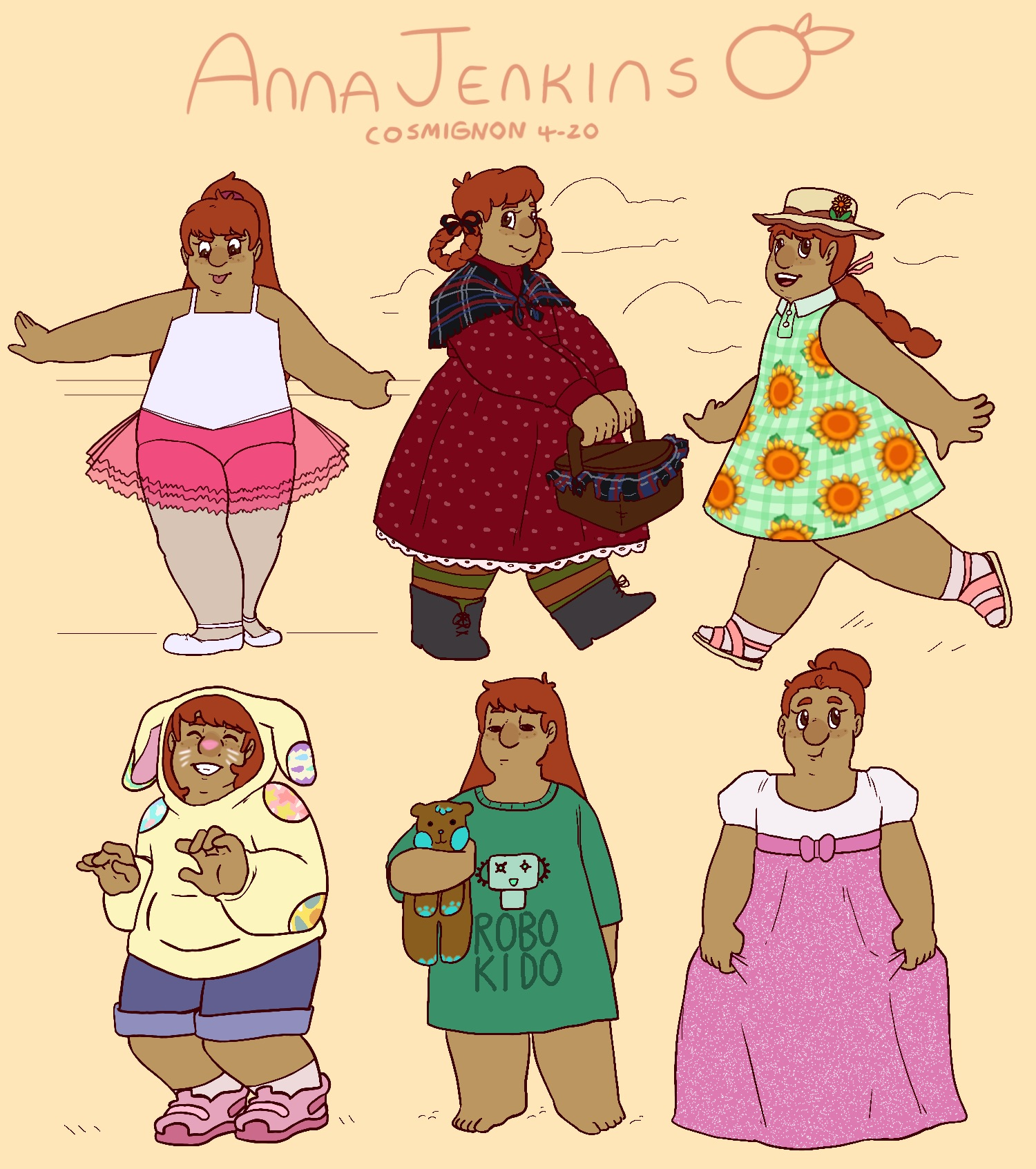 Anna Costume Challenge