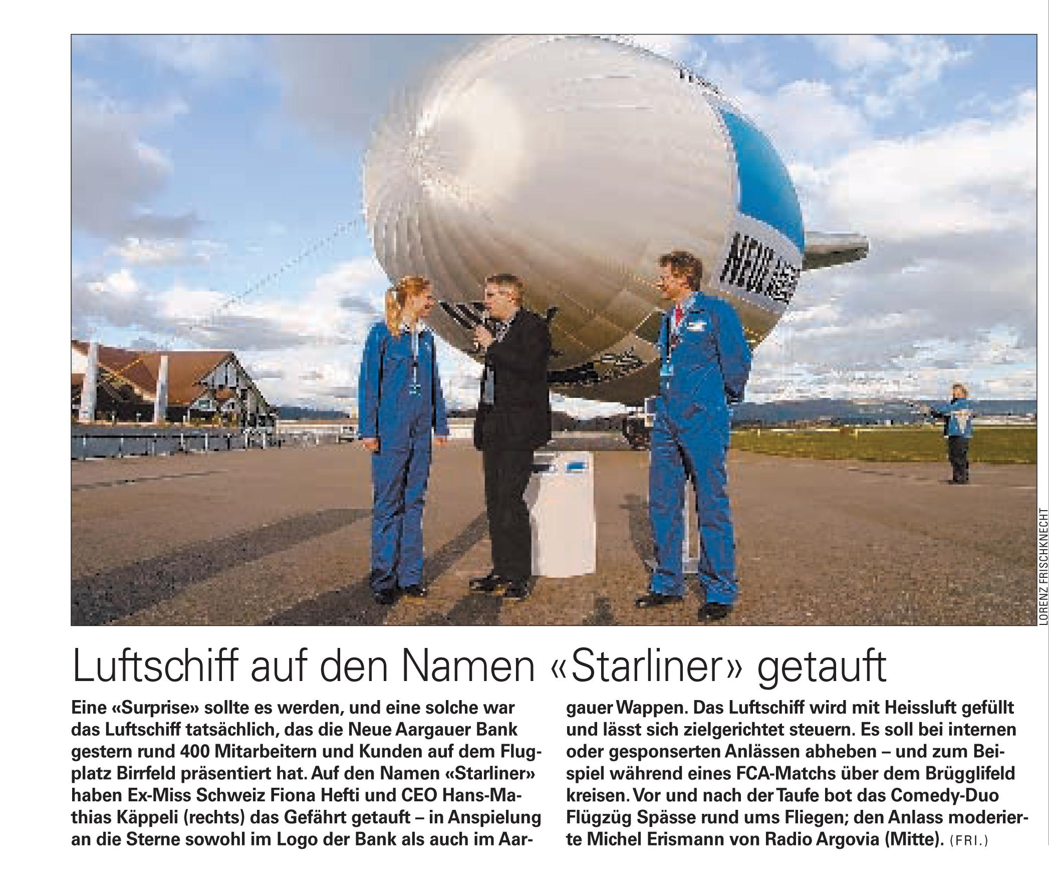 Starliner NAB