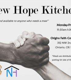 New Hope Kitchen is Open