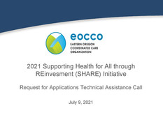 2021 SHARE Initiative Request for proposals