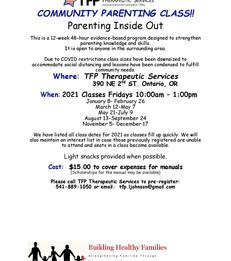 Community Parenting Class