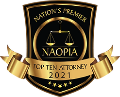 NAOPIA Top Ten Attorney 2021