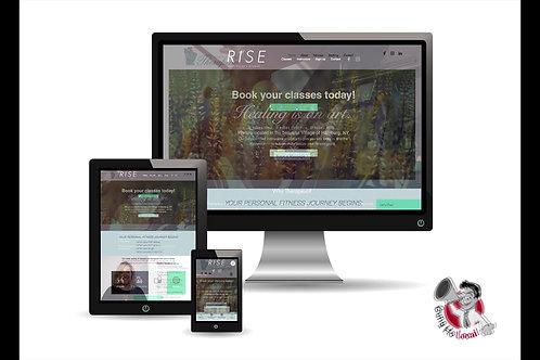 Local Website Design (+1yr Hosting)