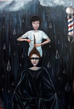 Haircut on a Rainy Day