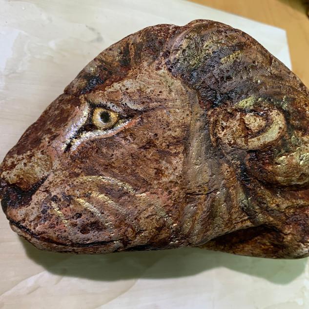 Lion Rock (details)