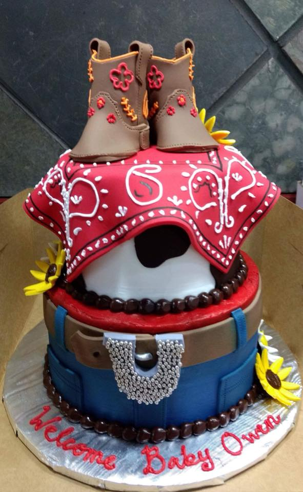 Western Themed Cake