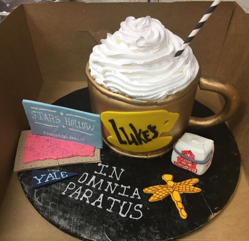 Gilmore Girls Themed Cake