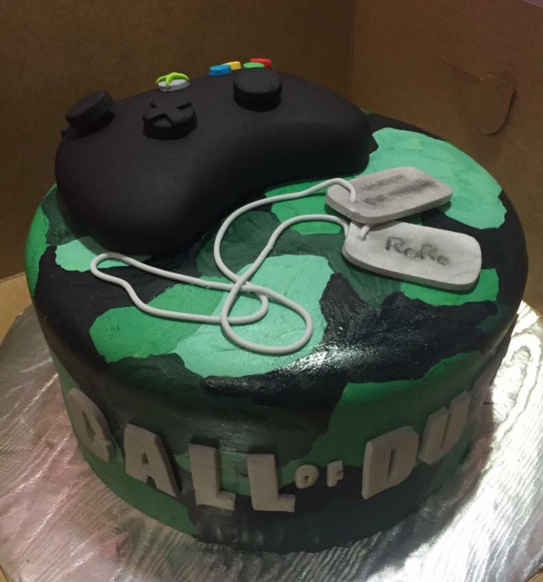 Call of Duty Themed Cake