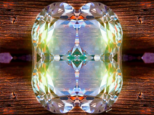 Crystal Fusion Spiritual Wall Art