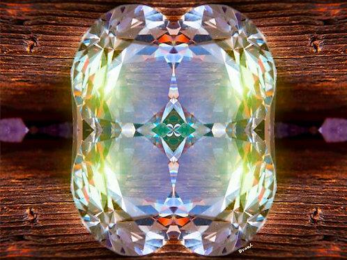 Crystal Fusion Spiritual Wall Art