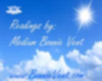 Bonnie Vent Readings banner