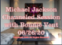 200626 Michael Jackson Channeled Message