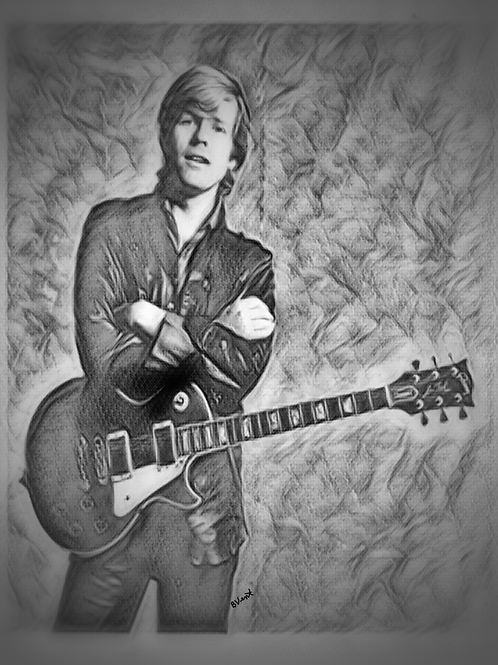 Peter Noone from Herman's Hermits by Bonnie Vent