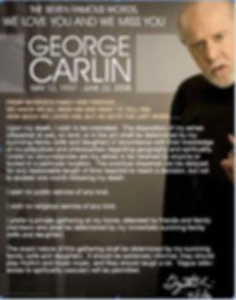 Bonnie Vent and George Carlin