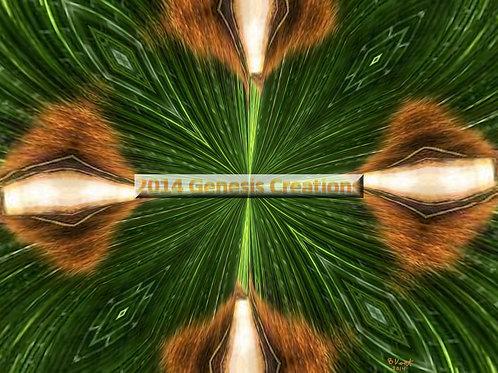 Reeds Spiritual Art signed by Bonnie Vent