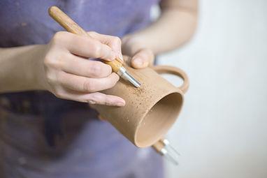 Malerei Keramik