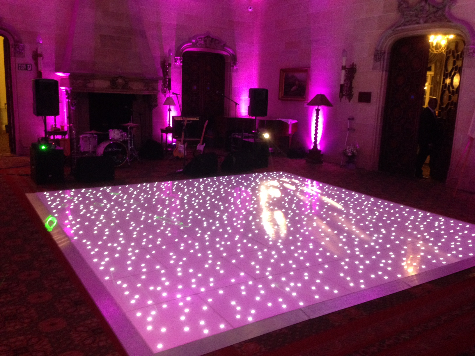 Light Up Dancefloor for hire