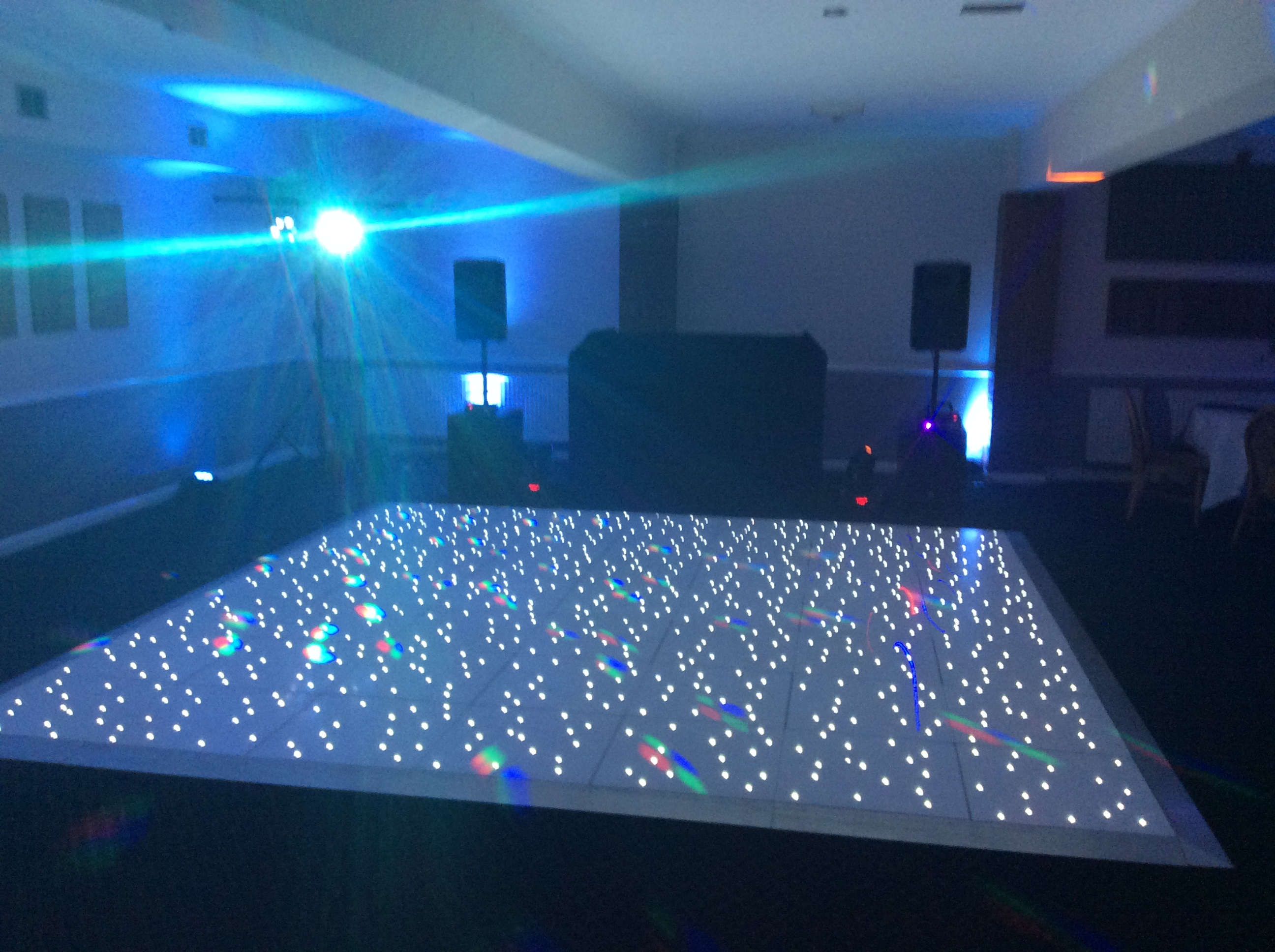 Birthday LED Dancefloor