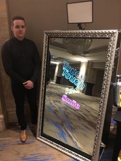 Magic Mirror and Attendant