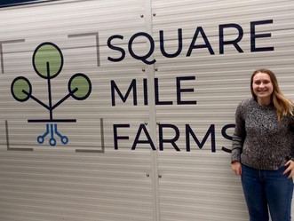 Square Mile Farms: notes from our intern, Anna