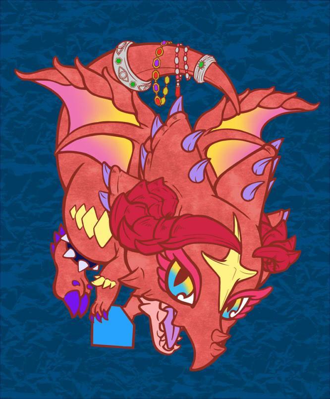 ドラゴンイラスト