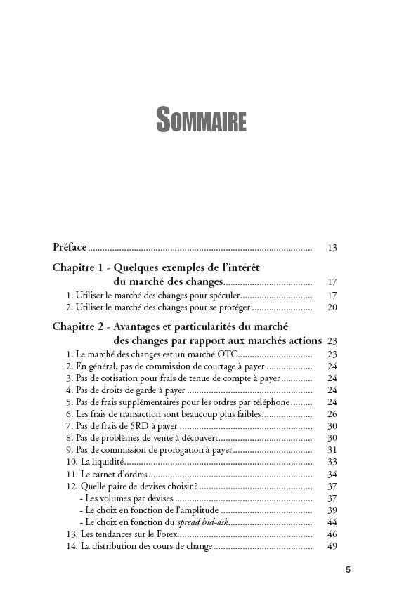 Spéculer avec succès sur le Forex Philippe Lhermie