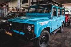 Land Rover 110 (Blue)