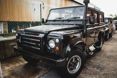 Land Rover 110 (Black)