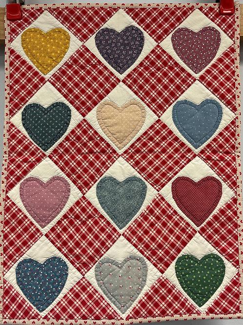 W177 - Homespun Hearts