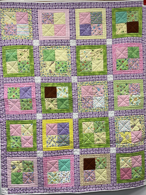 W277 - Sweet Dreams Baby Quilt
